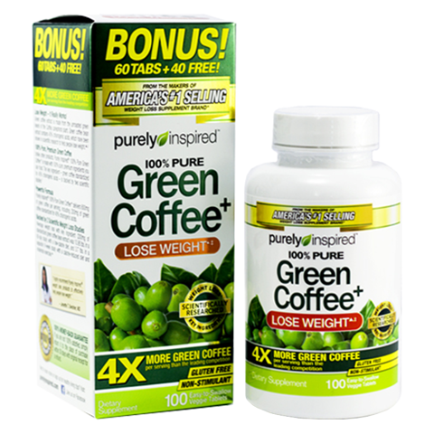 PURELY INSPIRED GREEN COFFEE BONUS 100CT US