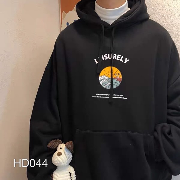 HD044 - ÁO HOODIE IN LEISURELY