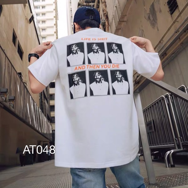 AT048 - ÁO THUN LIFE IS SHIRT