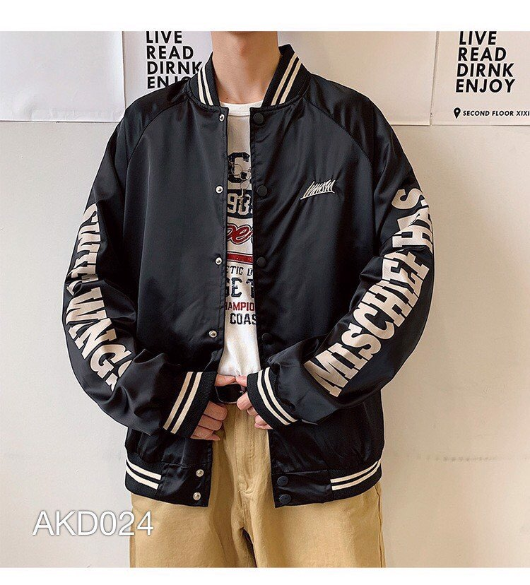 AK.D024 - JACKET BOMBER DÙ IN CHINITLE