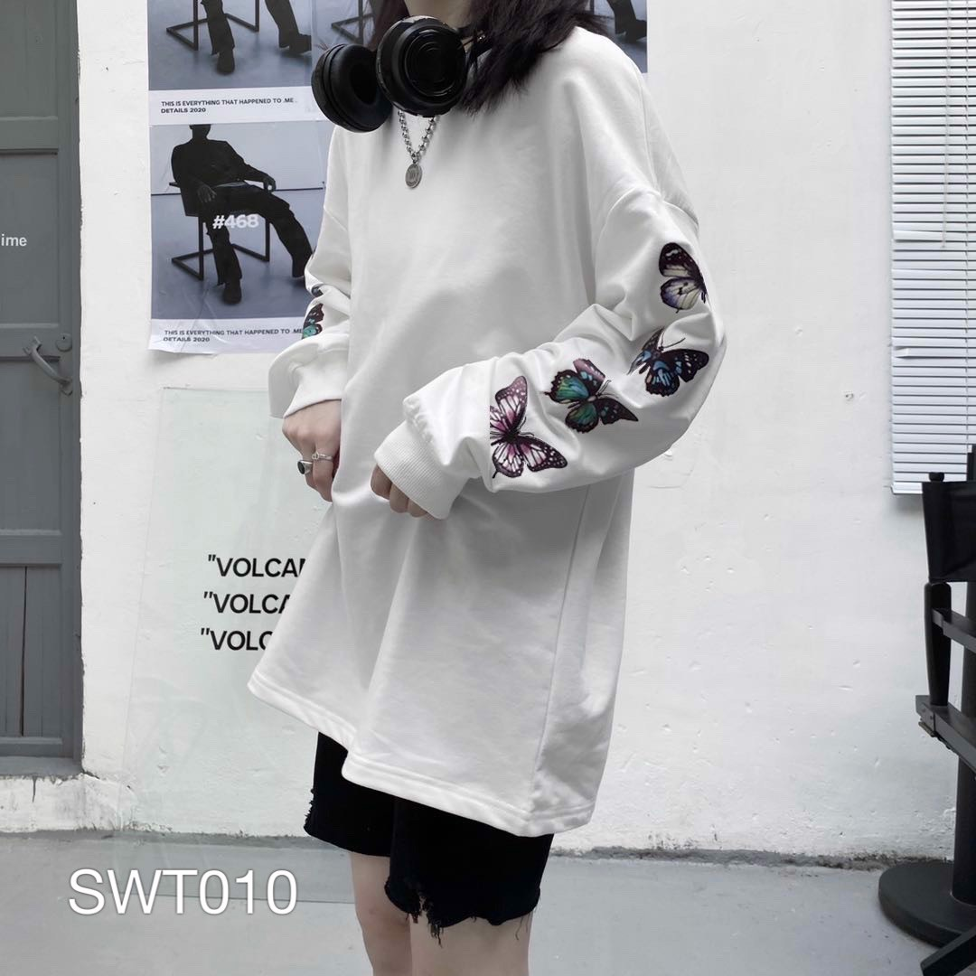 SWT010 - ÁO SWEATER BUTTERFLY