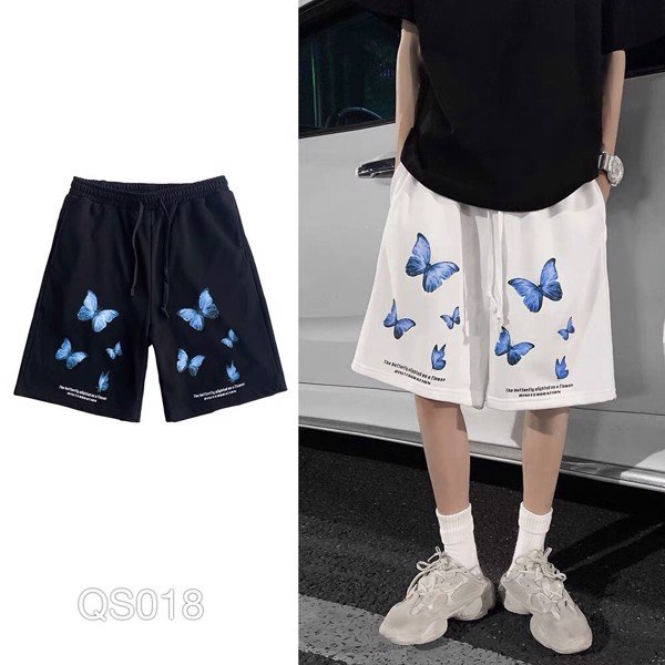 QS018 - QUẦN SHORT THUN IN BUTTERFLY
