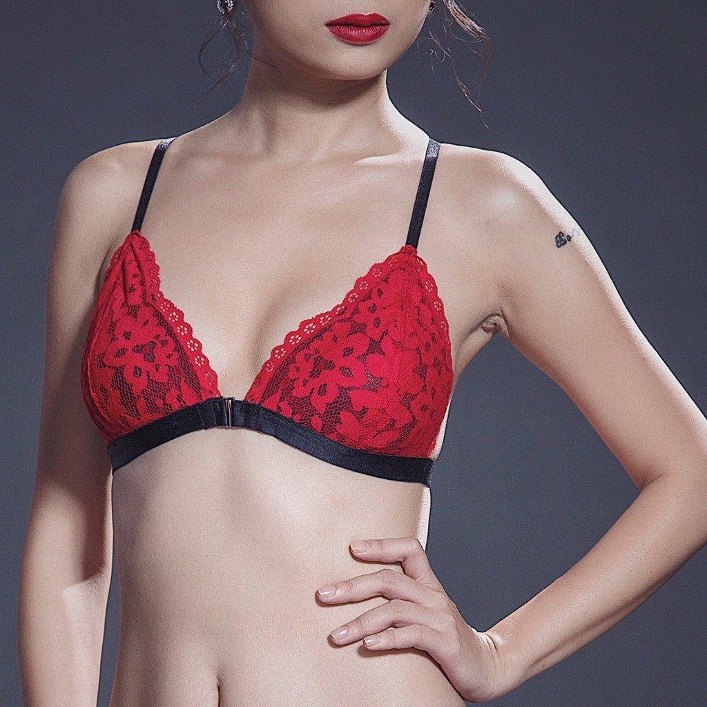 Áo ngực lưng chữ X La Luna A68 - Đỏ