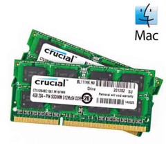 Nâng cấp Ram CRUCIAL cho Macbook Pro - Mac Mini (2G - 16G) - New 100%