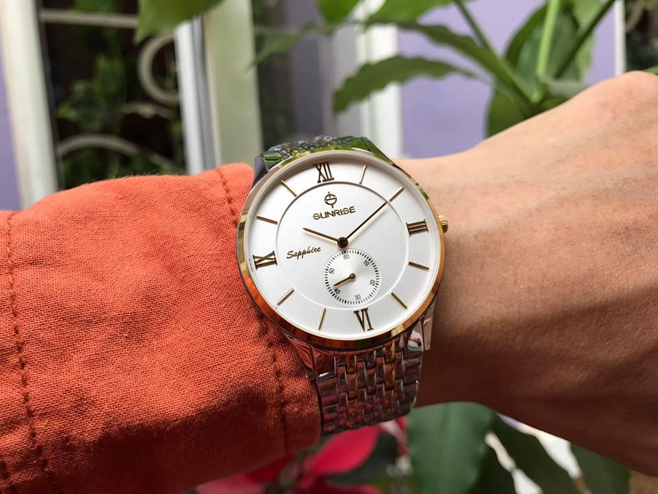 Đồng hồ nam Sunrise 1109SAGSK-T