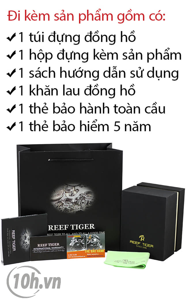 Đồng hồ Reef Tiger RGA3019-PNN