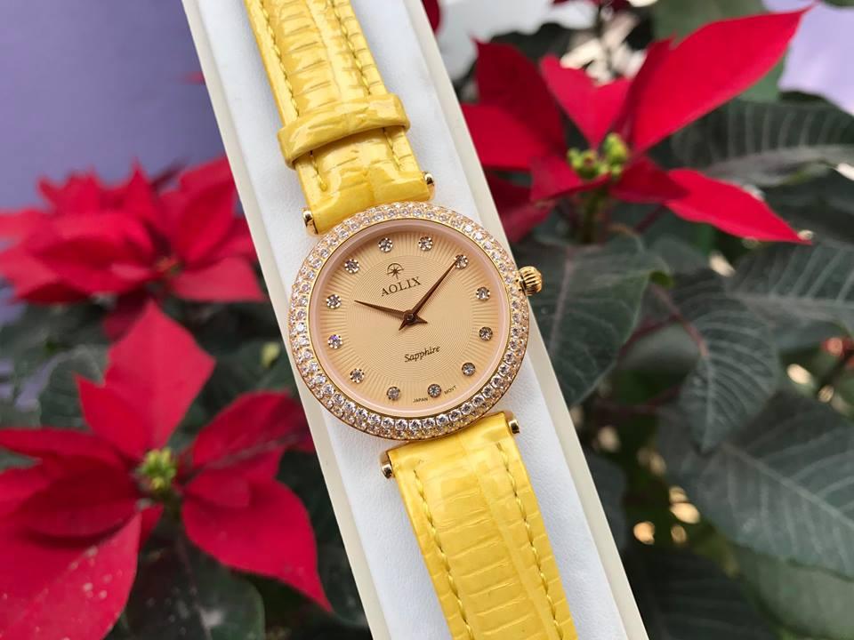 Đồng hồ nữ chính hãng aolix AL1020LDGLK-V