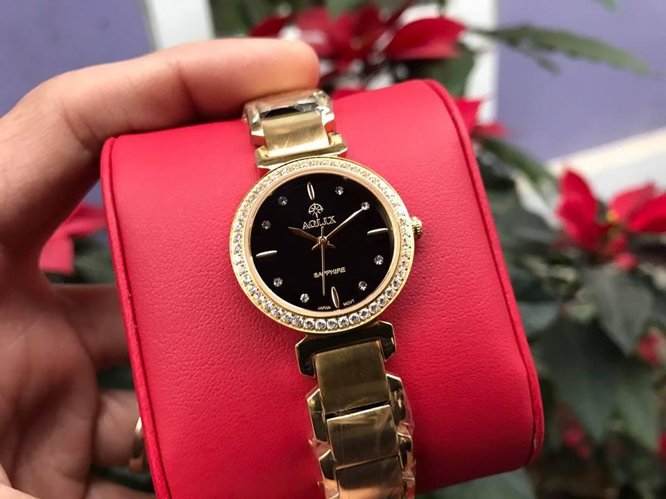 Đồng hồ lắc nữ chính hãng Aolix AL 1035LK-D