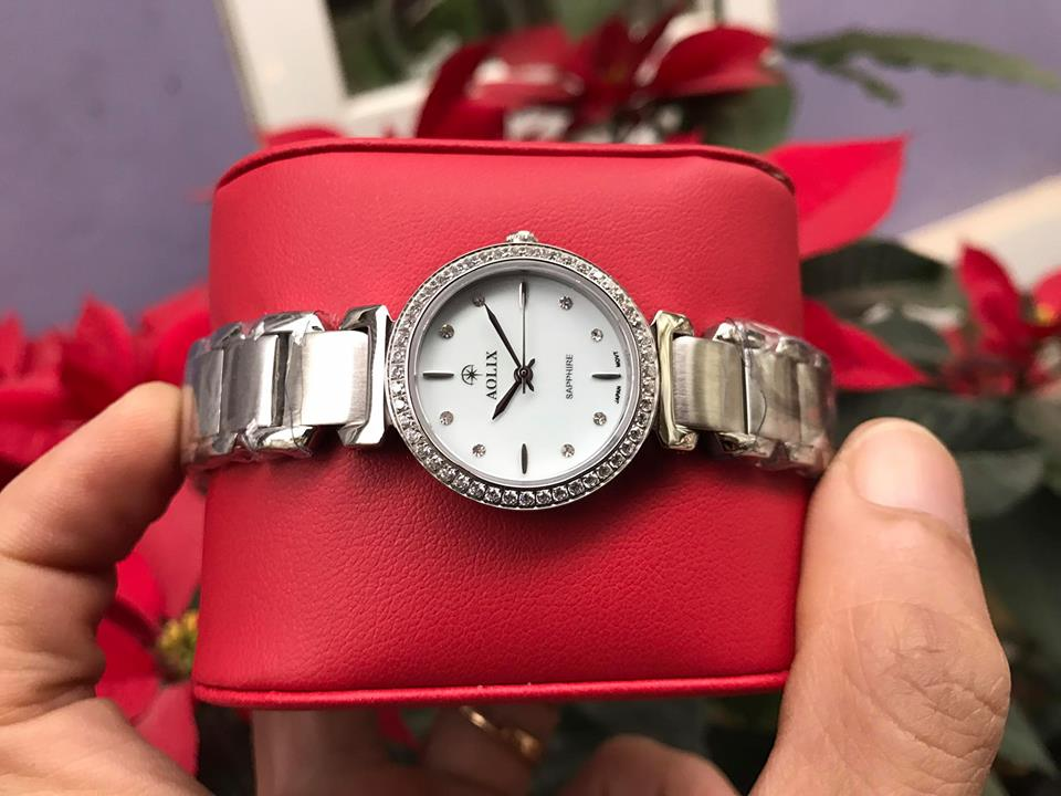 Đồng hồ lắc nữ chính hãng Aolix AL 1035LS-T