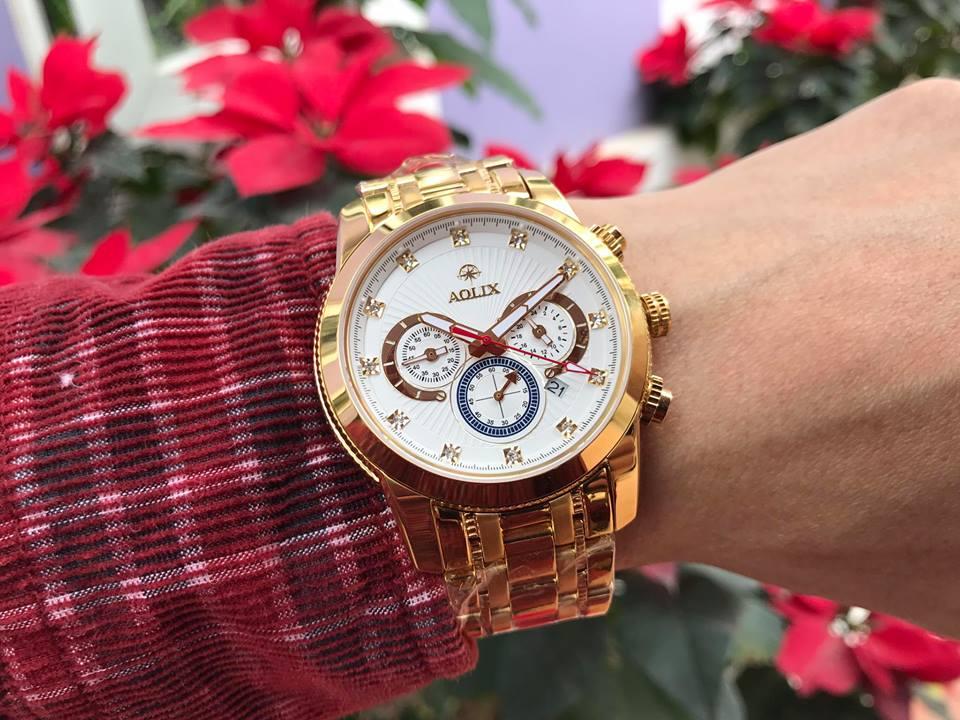 Đồng hồ nam chính hãng Aolix AL7049GK-T