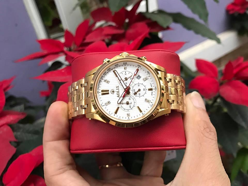 Đồng hồ nam chính hãng Aolix AL7050GK-T