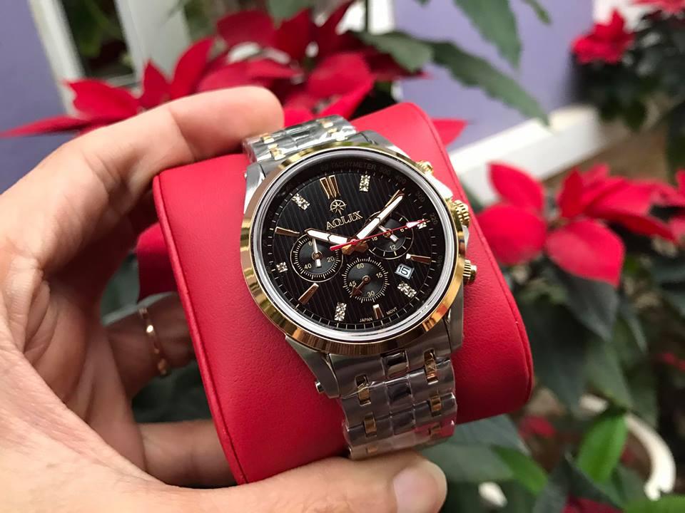 Đồng hồ nam chính hãng Aolix AL7050GSK-D