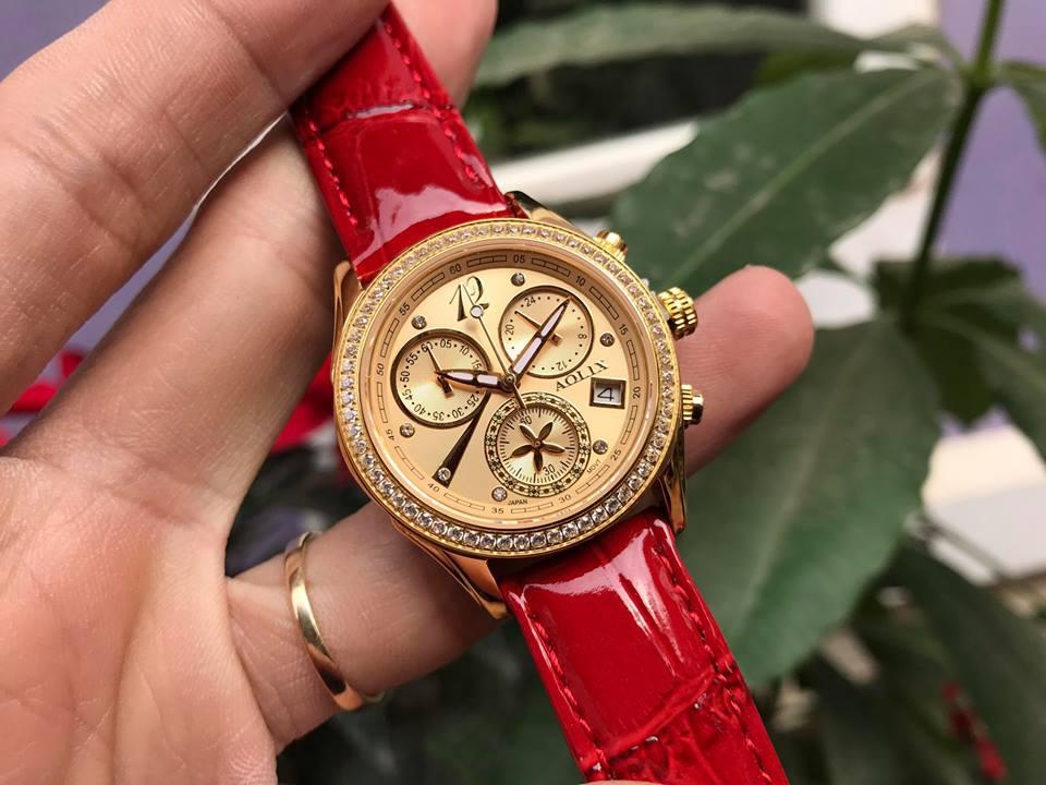 Đồng hồ nữ chính hãng aolix AL7066LKGL-T