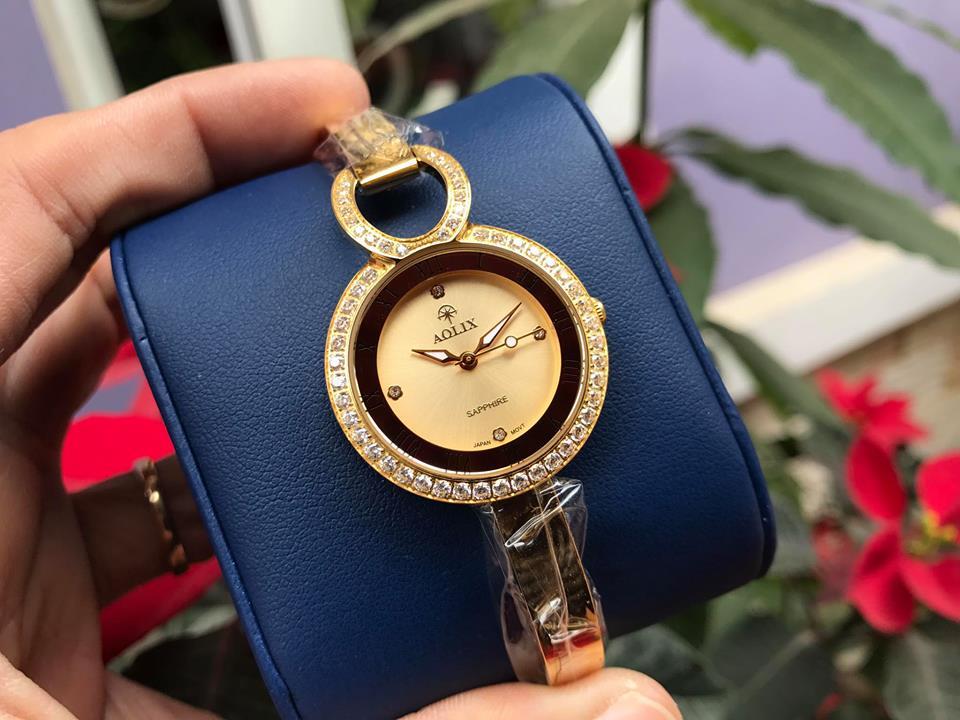 Đồng hồ lắc nữ chính hãng Aolix AL1030LK-V