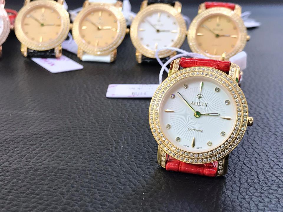 Đồng hồ nữ chính hãng aolix AL1031LGLK-T
