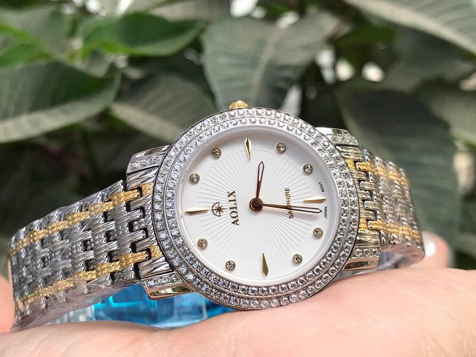 Đồng hồ nữ chính hãng aolix AL1031LSK-T