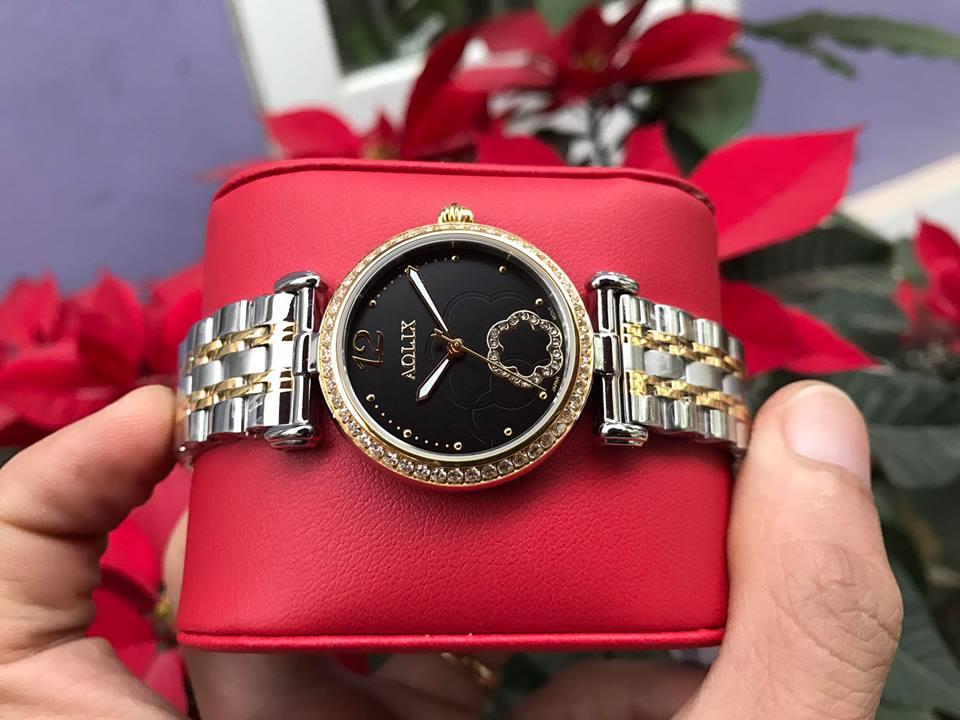 Đồng hồ lắc nữ chính hãng Aolix AL 1032LSK-D