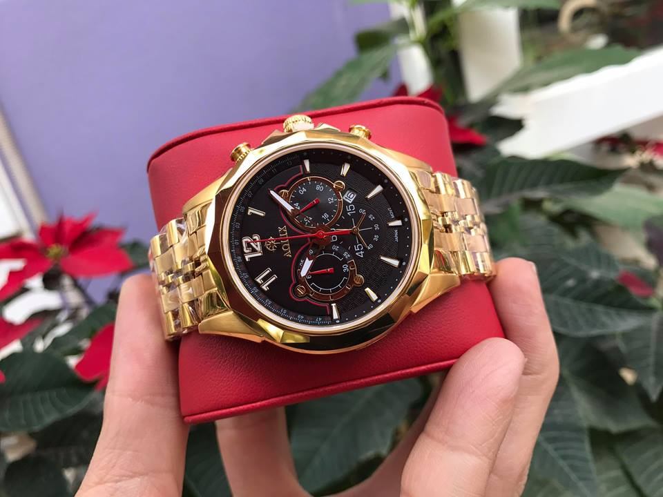 Đồng hồ nam chính hãng aolix AL7052GK-D