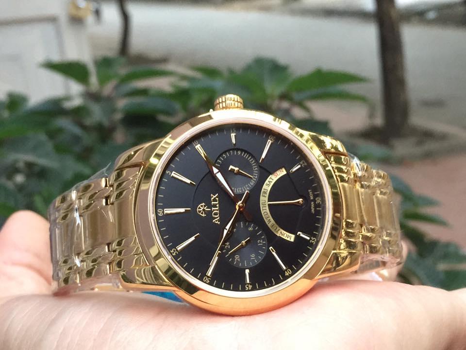 Đồng hồ nam chính hãng aolix AL7061GK-D