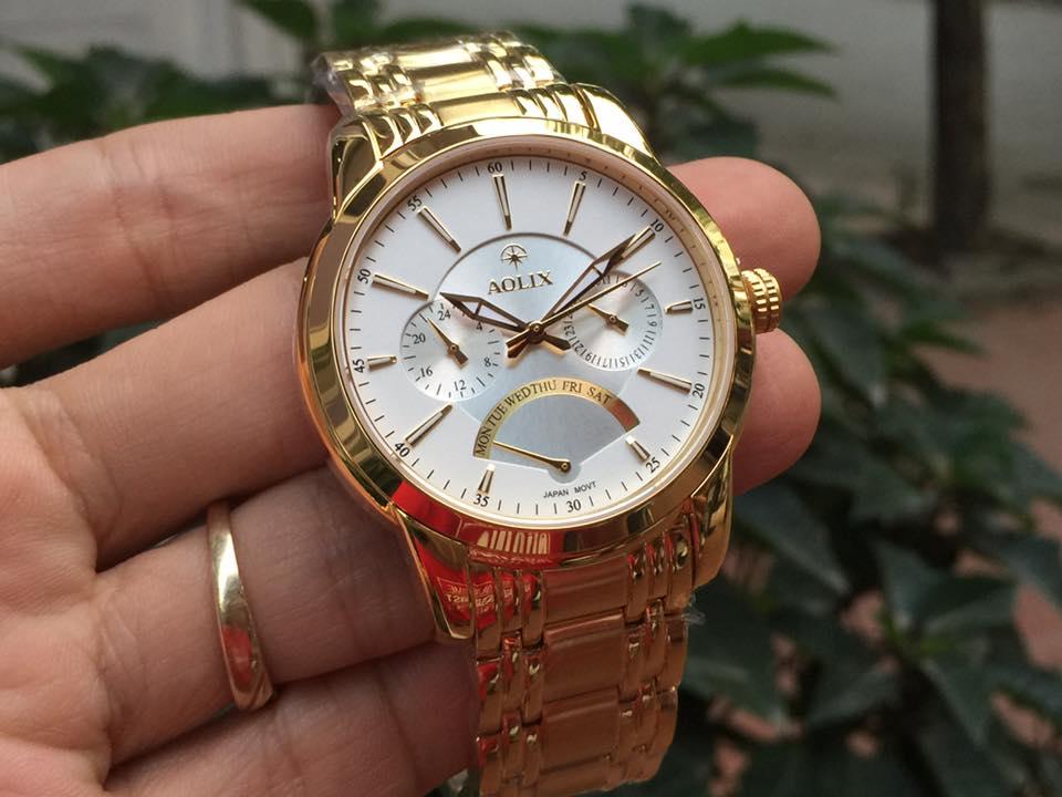 Đồng hồ nam chính hãng aolix AL7061GK-T