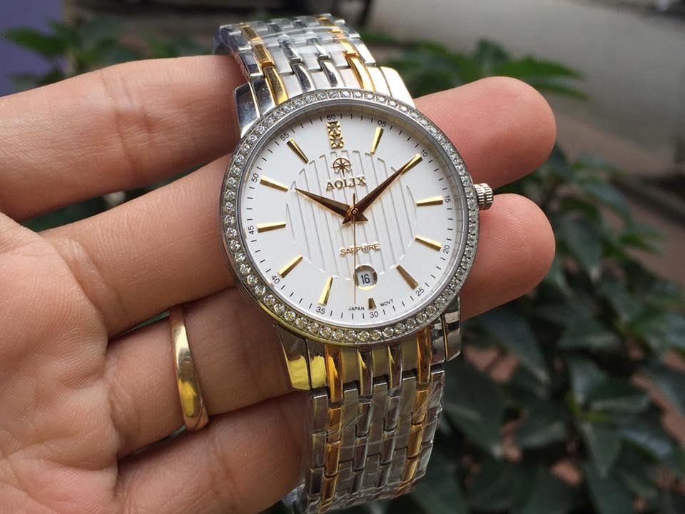 Đồng hồ nam chính hãng Aolix AL9093GSK-T