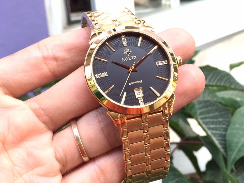 Đồng hồ nam chính hãng Aolix AL9094GK-D