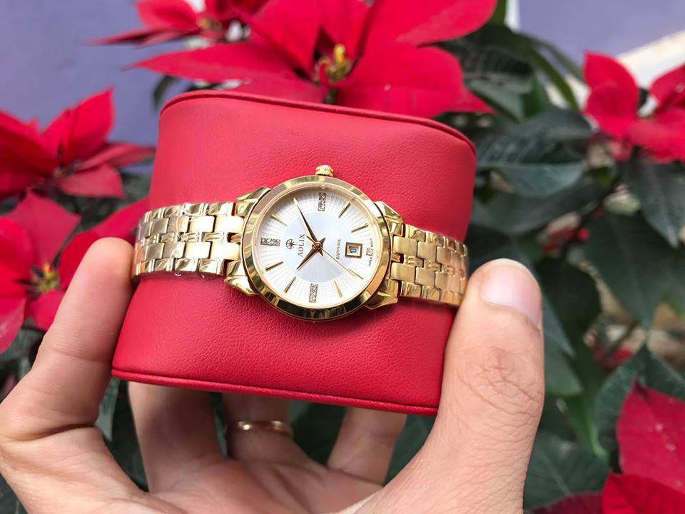 Đồng hồ nữ chính hãng Aolix AL9094LK-T