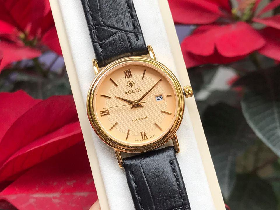 Đồng hồ nữ chính hãng aolix AL9100LK-GL-V