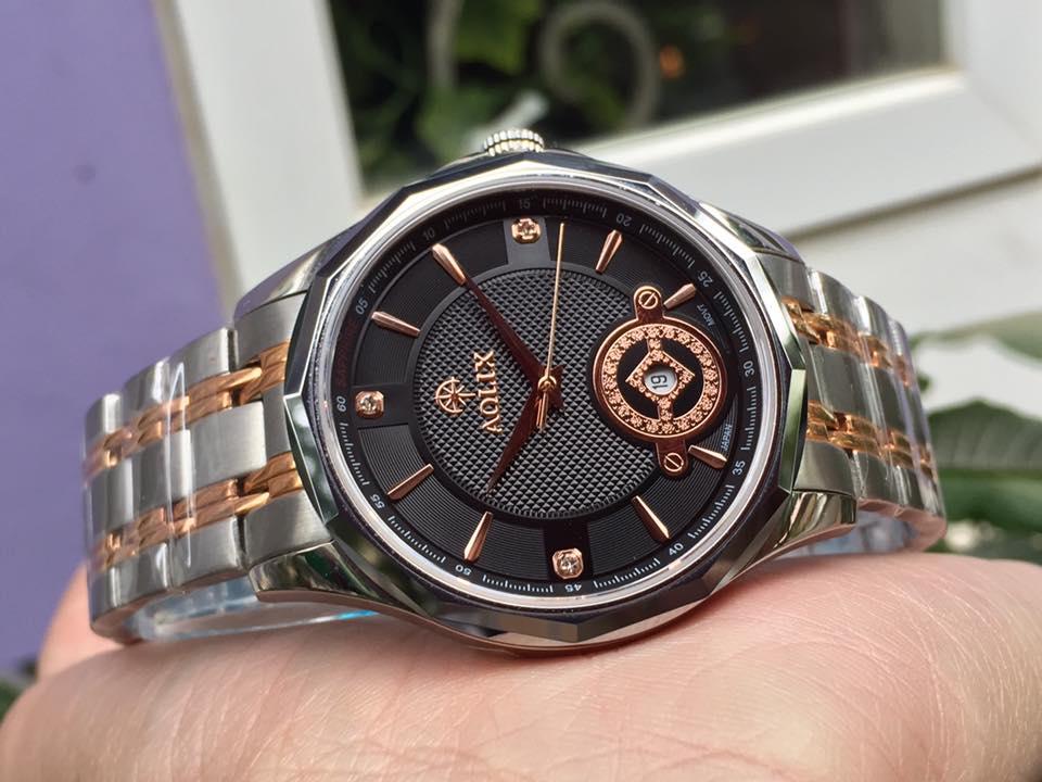 Đồng hồ nam chính hãng Aolix AL9131MSK-D