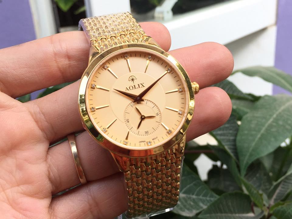 Đồng hồ nam chính hãng aolix AL9139GK-V