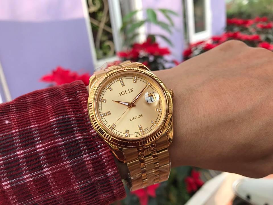 Đồng hồ nam chính hãng Aolix AL9145GK-V