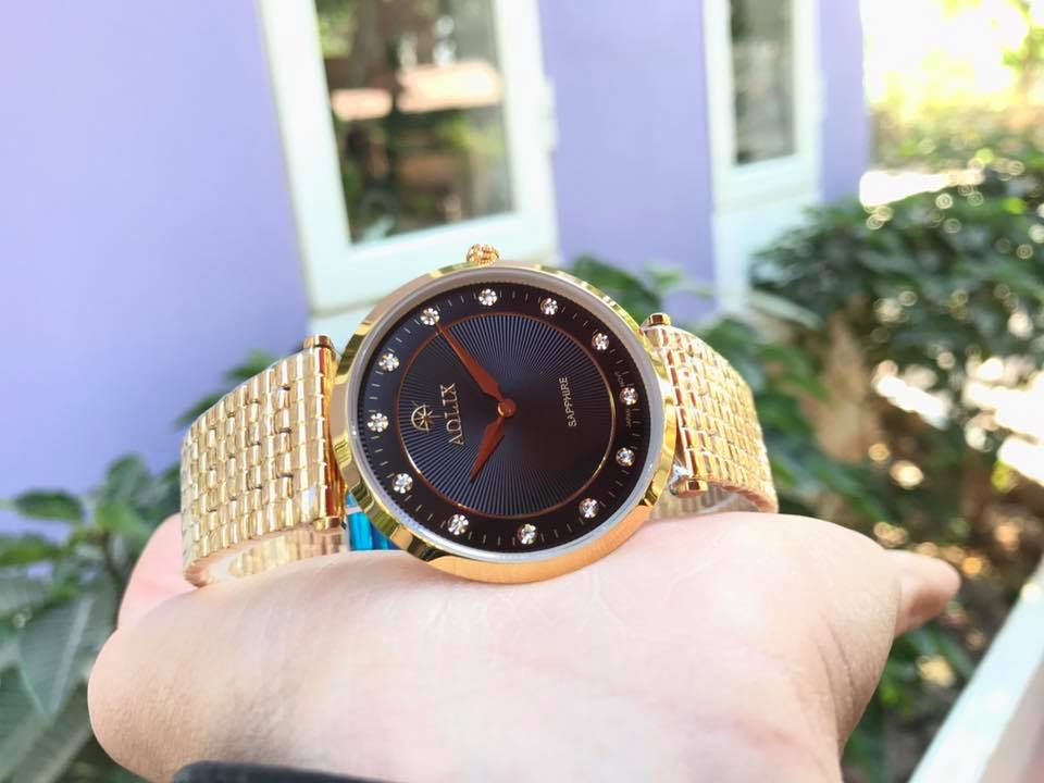 Đồng hồ nữ chính hãng aolix AL 9152LK-D