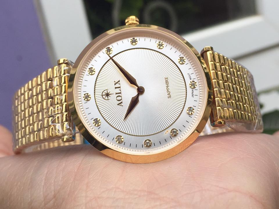 Đồng hồ nam chính hãng aolix AL9152GK-T