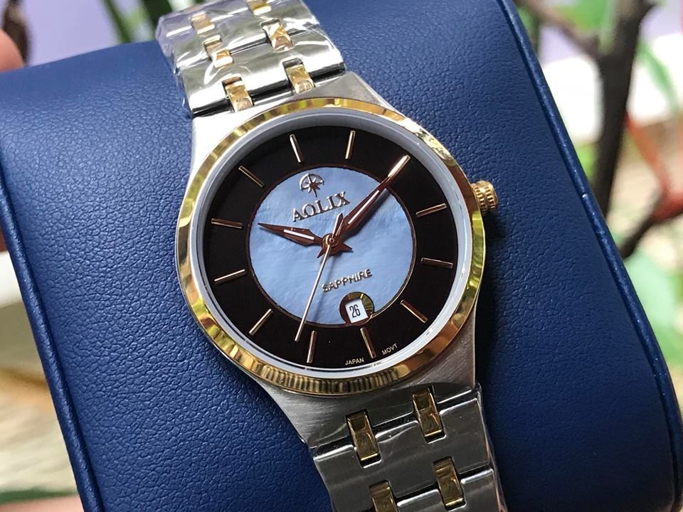 Đồng hồ nữ chính hãng aolix AL9154LSK-D