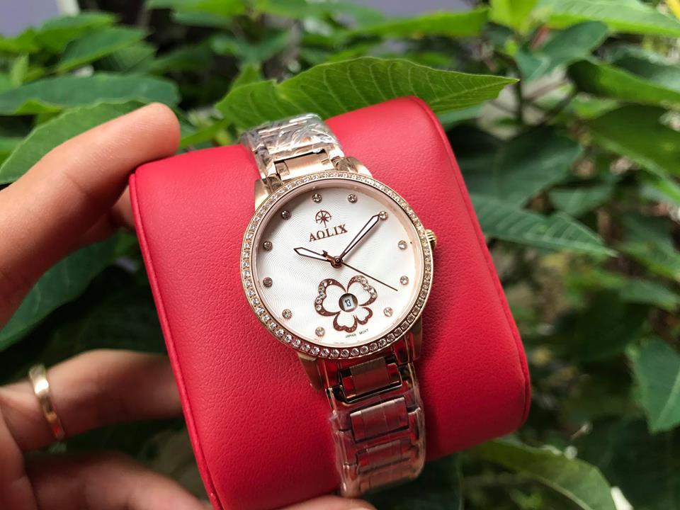 Đồng hồ nữ aolix AL1033LK-T
