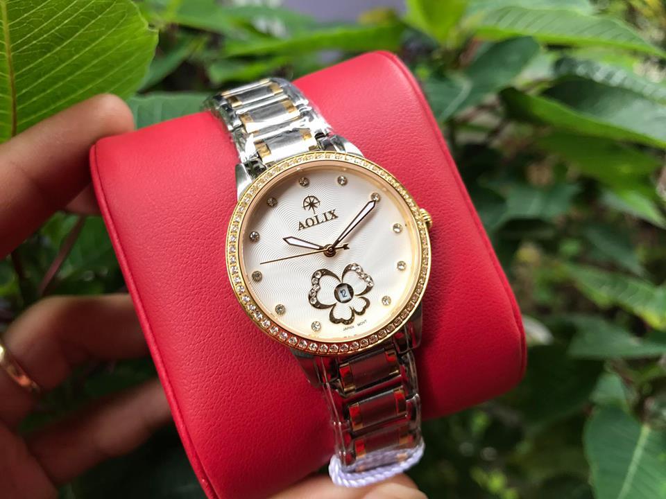 Đồng hồ nữ aolix AL1033LSK-T