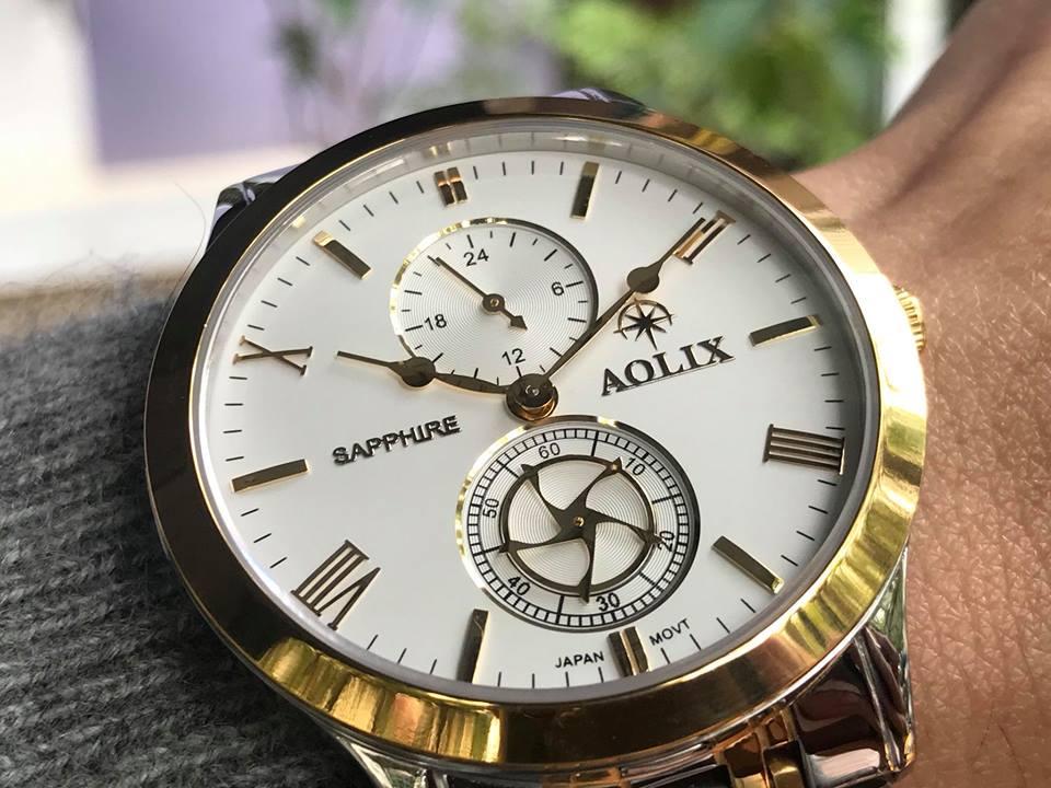 Đồng hồ nam chính hãng Aolix AL7067GSK-T