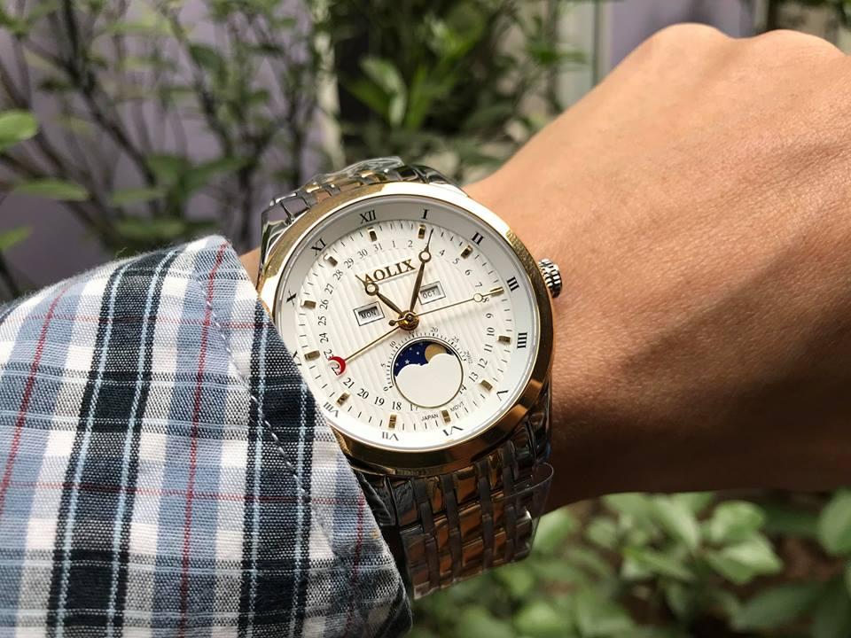 Đồng hồ nam Aolix AL7073GSK-T