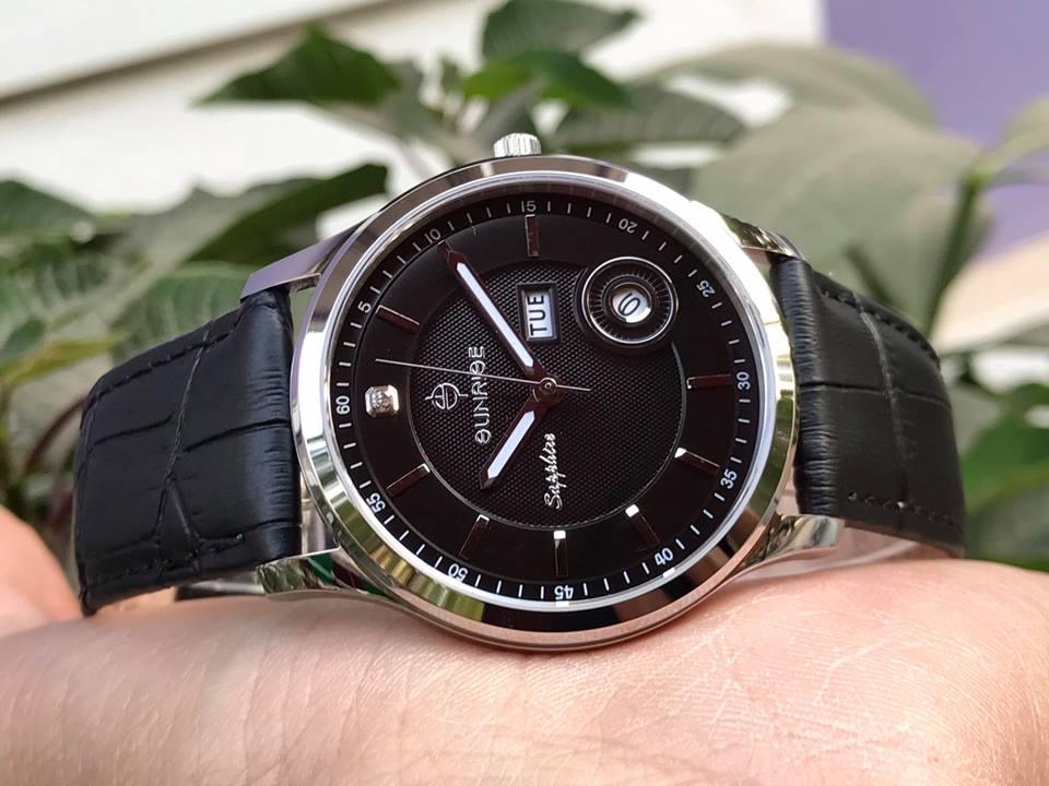 Đồng hồ nam chính hãng Sunrise DM782PWAGS-GL-D
