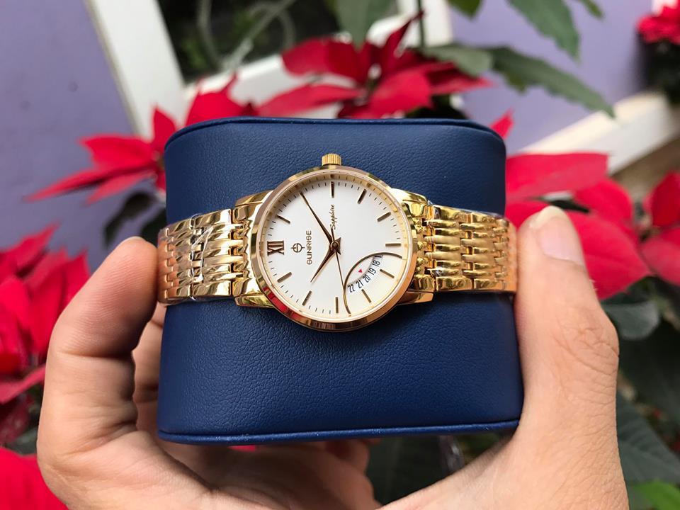 Đồng hồ nữ sunrise DM783SWALK-T