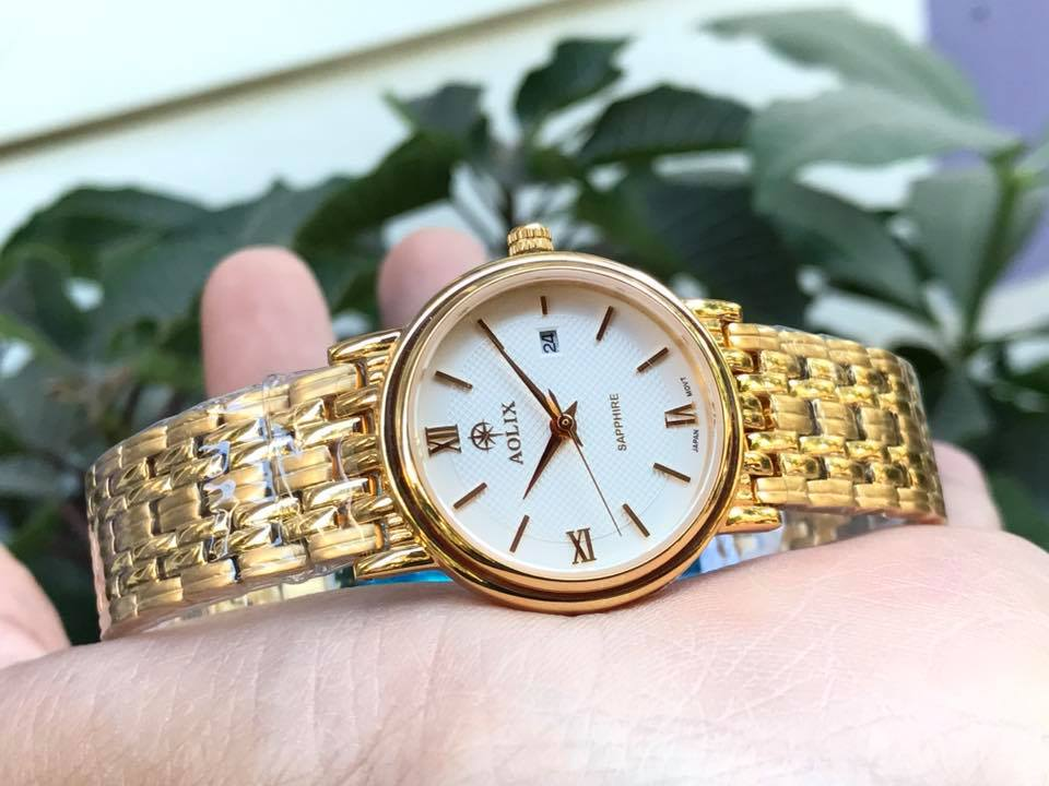 Đồng hồ nữ chính hãng aolix AL9100LK-T