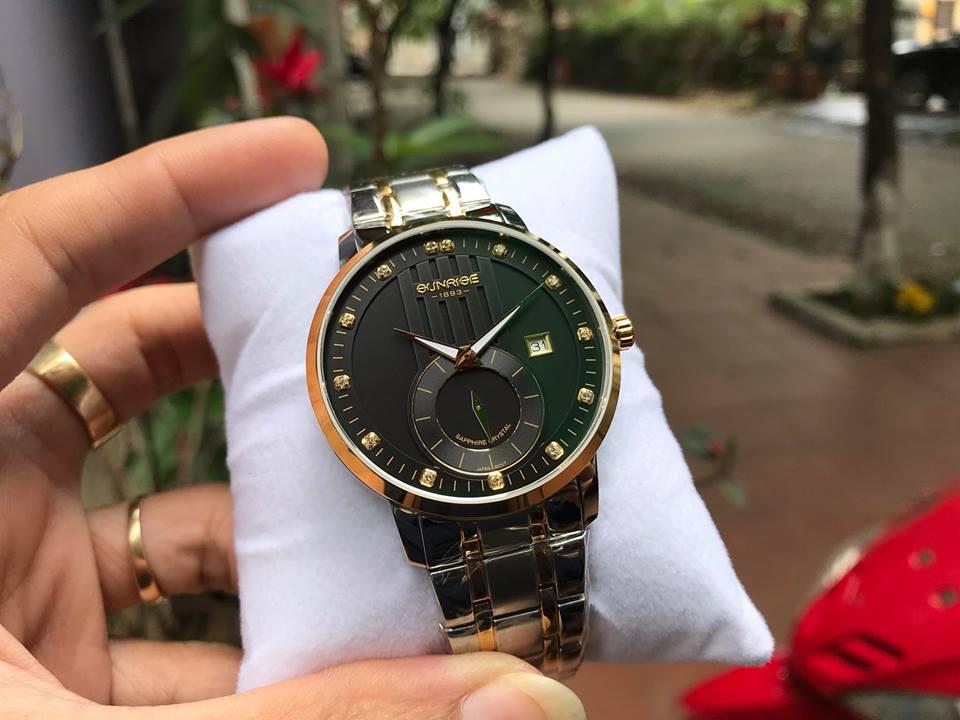 Đồng hồ nam Sunrise 1165SAGSK-D