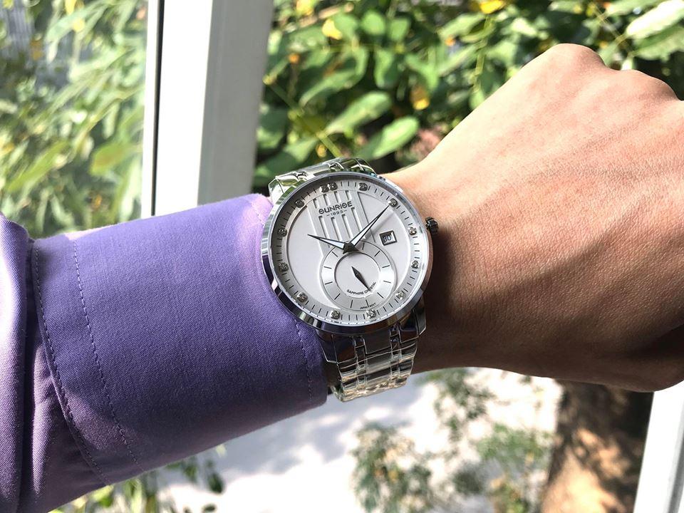 Đồng hồ nam Sunrise 1165SAGS-T