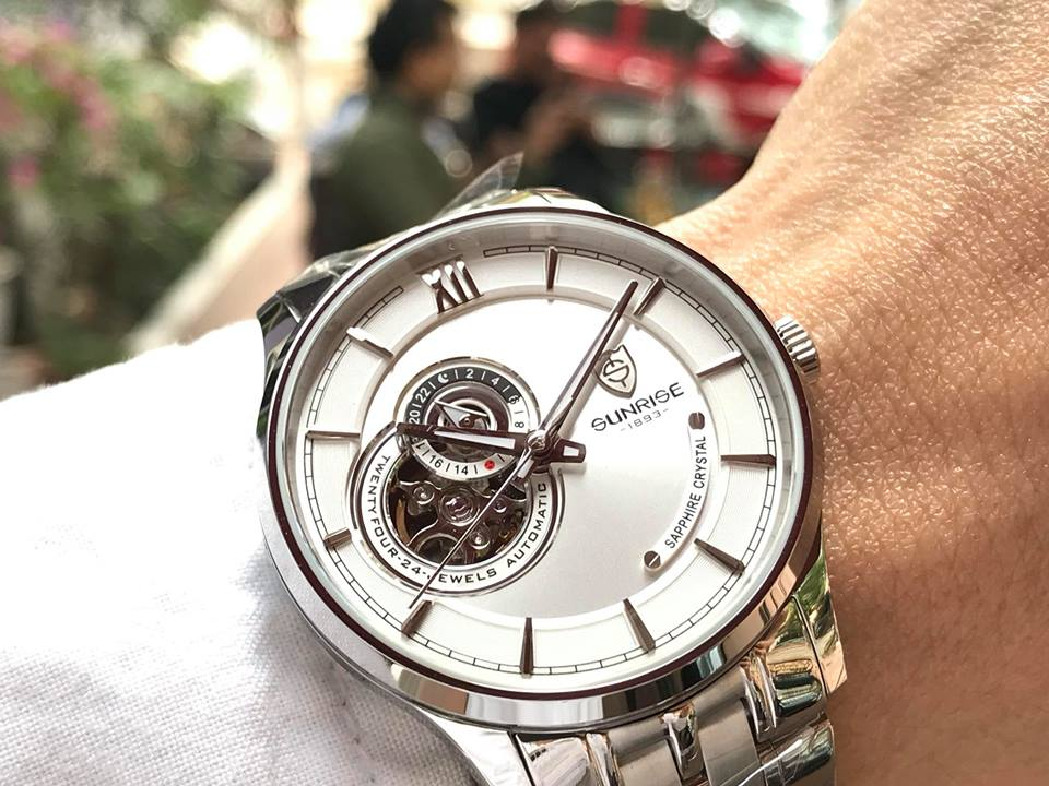 Đồng hồ nam Sunrise 7002SCGS-T