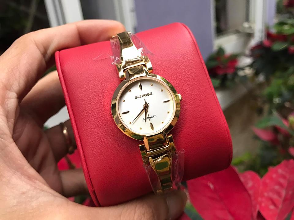 Đồng hồ lắc nữ sunrise SL719SWALK-T