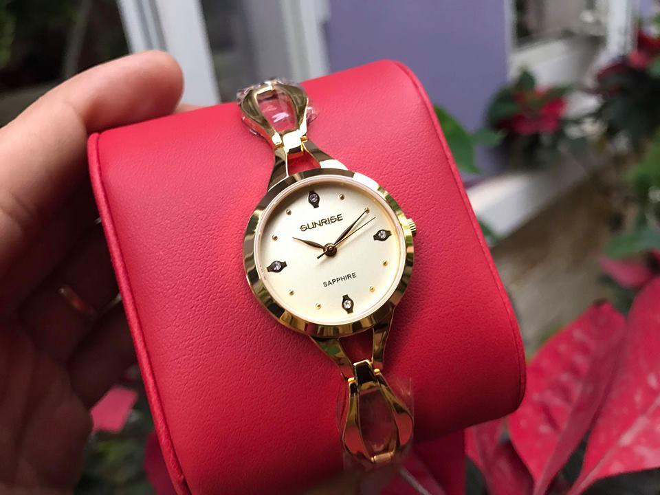 Đồng hồ lắc nữ sunrise SL720SWALK-V