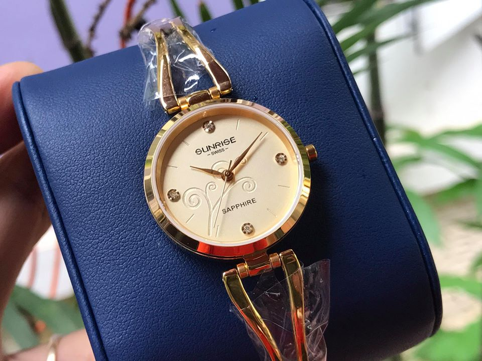 Đồng hồ lắc nữ sunrise 9934SALK-V