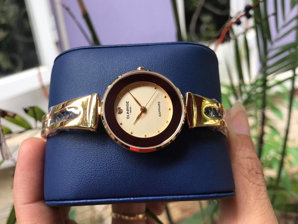 Đồng hồ lắc nữ sunrise 9935SALK-V
