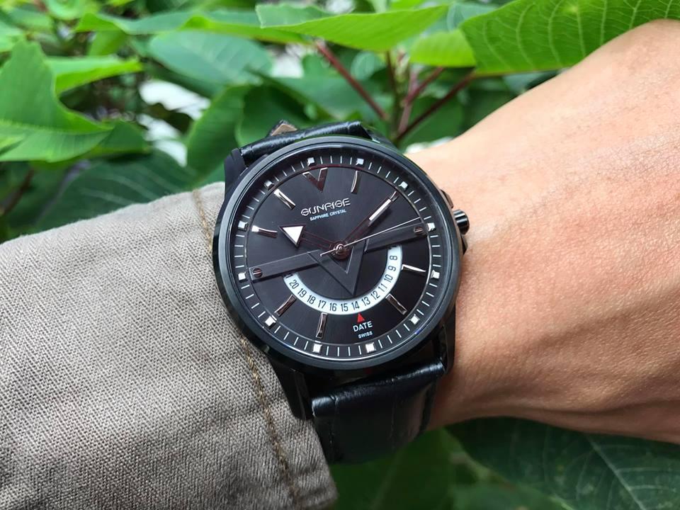 Đồng hồ nam sunrise 1116SAG-GL-D1