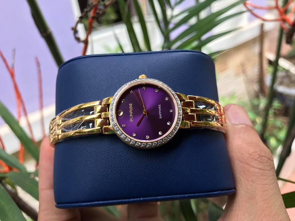 Đồng hồ lắc nữ sunrise SL728SXALK-P